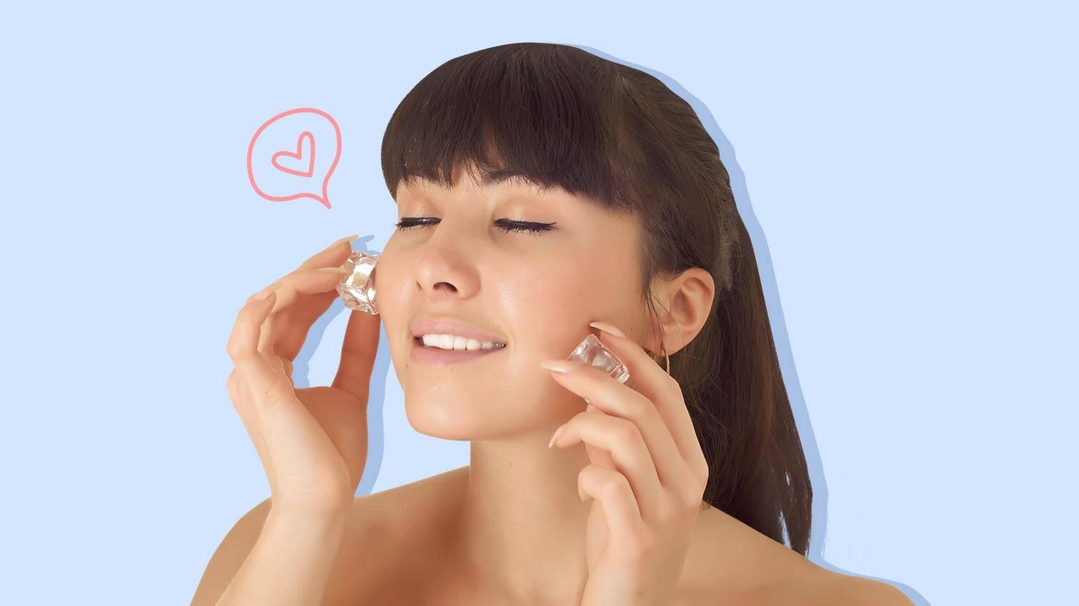 Manfaat Es Batu Untuk Kecantikan Wajah Yang Berjerawat Dan Berminyak